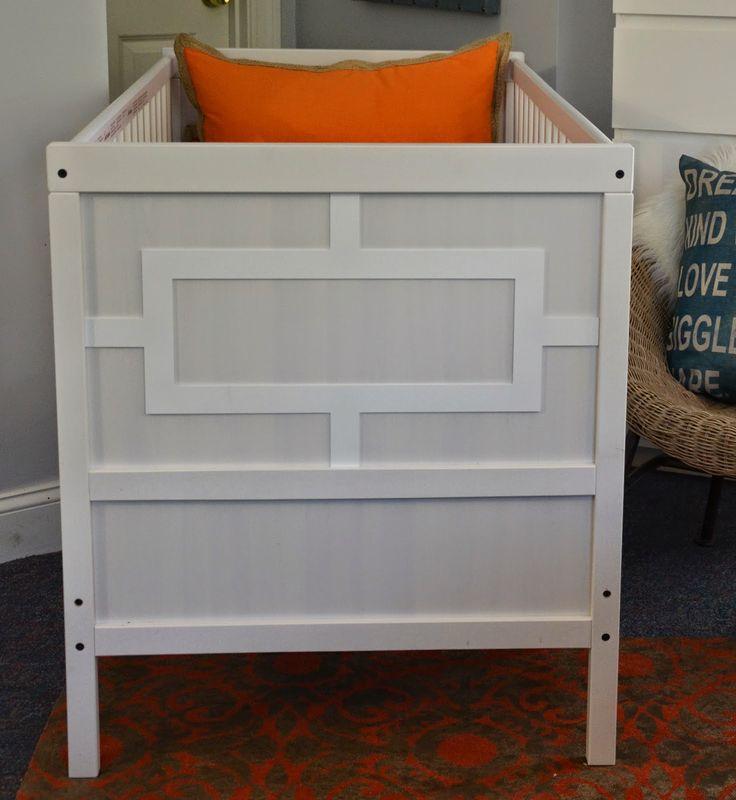 Ikea hack - sundviik crib with O'verlays: Sweet Dreams Baby.....
