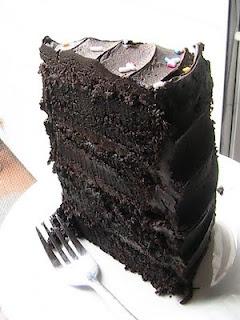 I want this right now please :) Hershey's Decadent Dark Chocolate Cake: Dark Chocolates Cakes, Desserts, Chocolate Cake Recipes, Chocolates Cakes Recipe, Food, Hershey Decade, Moist Cakes, Dark Chocolate Cakes, Decade Dark