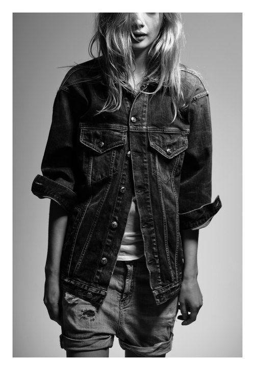 double denim | fashion editorial | casual