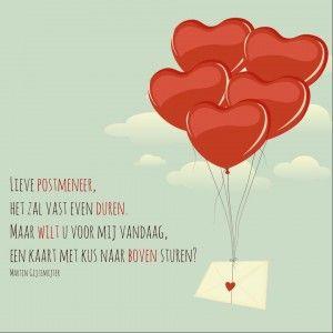 Een kus naar boven #gedicht #gedichten