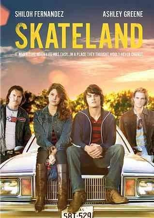 Skateland [PN1997.2 .S538 2011] In the early 1980s, in small-town Texas, dramatic events force a 19-year-old skating rink manager to look at his life in a very new way.   Director:Anthony Burns Writers:Anthony Burns, Brandon Freeman, Stars:Shiloh Fernandez, Ashley Greene, Heath Freeman