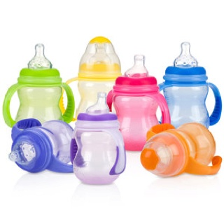 Nuby sippy cups SPILL PROOF