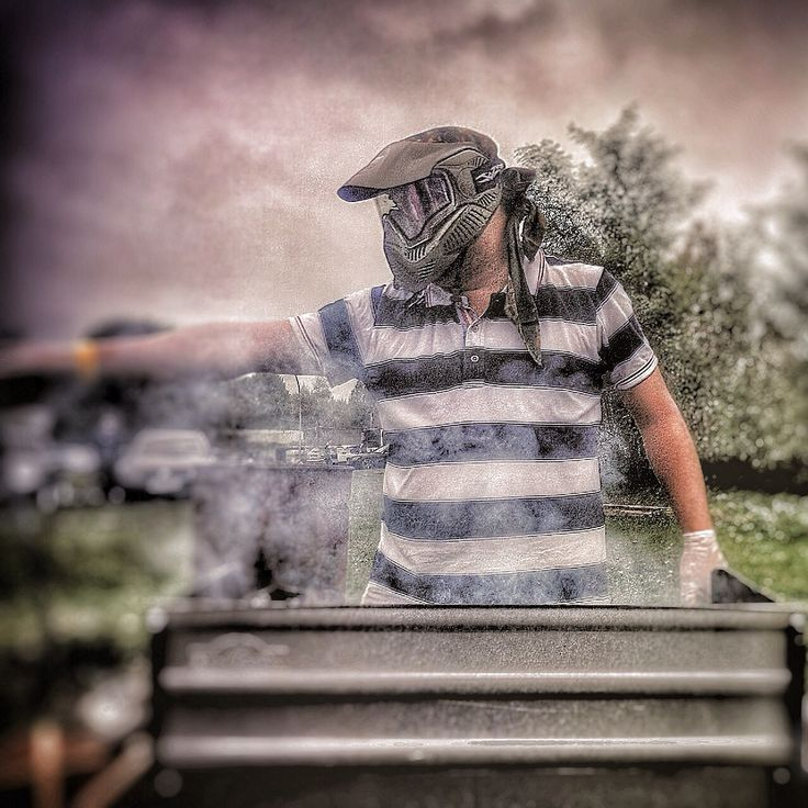 Barbecue Predator  #myknips #berlin #werneuchen #paintball #grill
