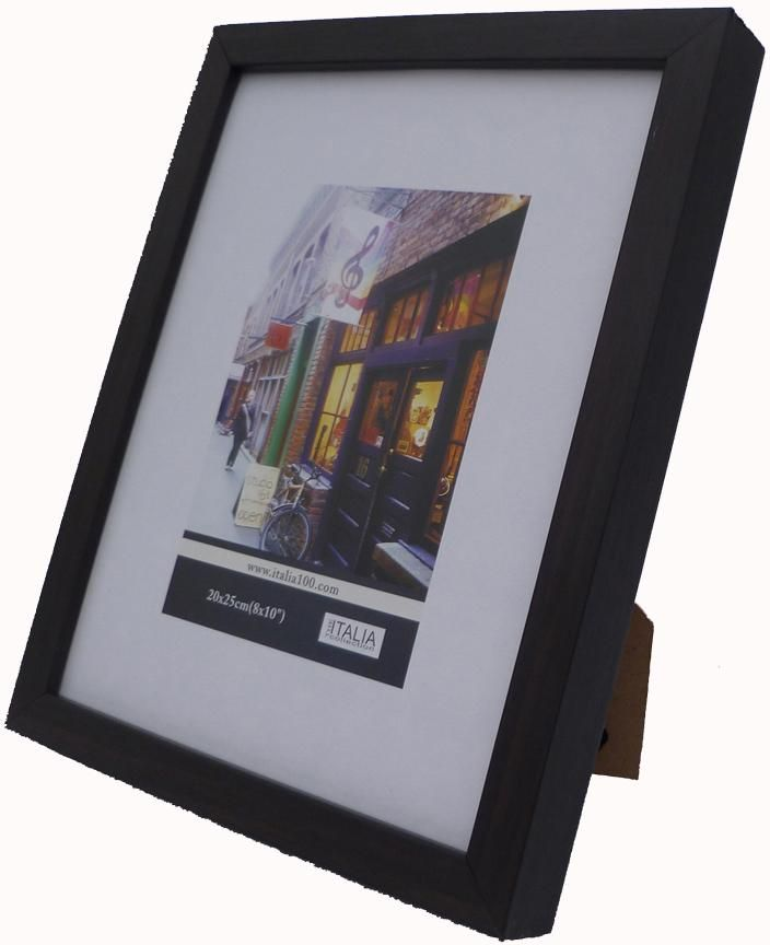 wholesale picture-frame---black-wood-(5-x-7-in.)-(case-of-24) (Case of 24)