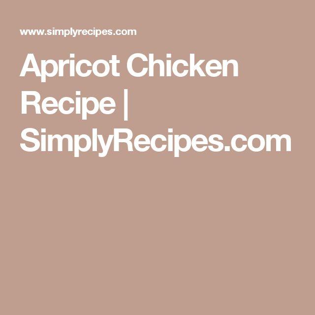 catalina chicken recipe apricot jam