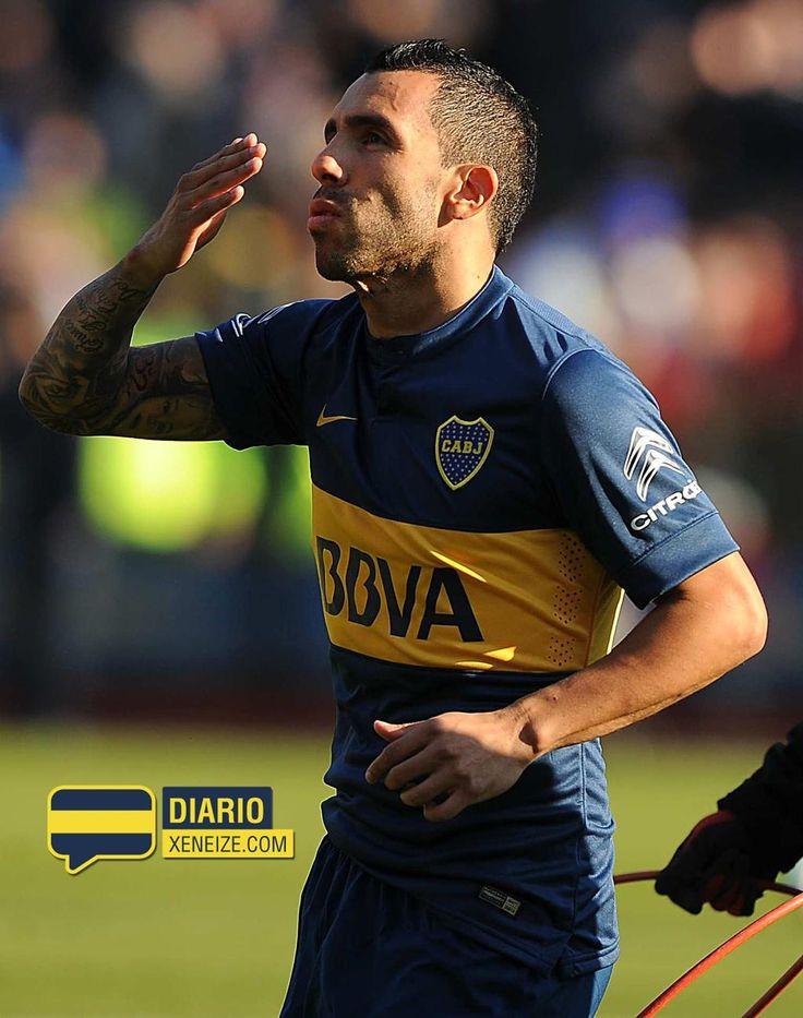 """Carlos Tevez: """"Boca tiene un plantel exquisito, para salir campeón"""". http://diarioxeneize.com/2015/07/18/tevez-boca-tiene-un-plantel-exquisito-para-salir-campeon/ …"""