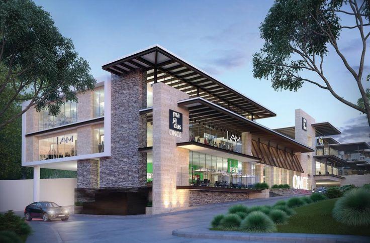 plazas comerciales modernas al aire libre - Buscar con Google