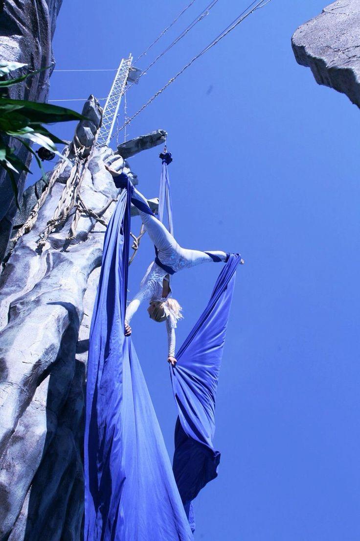 TESSUTI AEREI ACROBATICI - Aerial silk