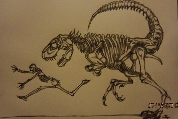 Jurassic Park Velociraptor Skeleton Tattoo 17+ best images...