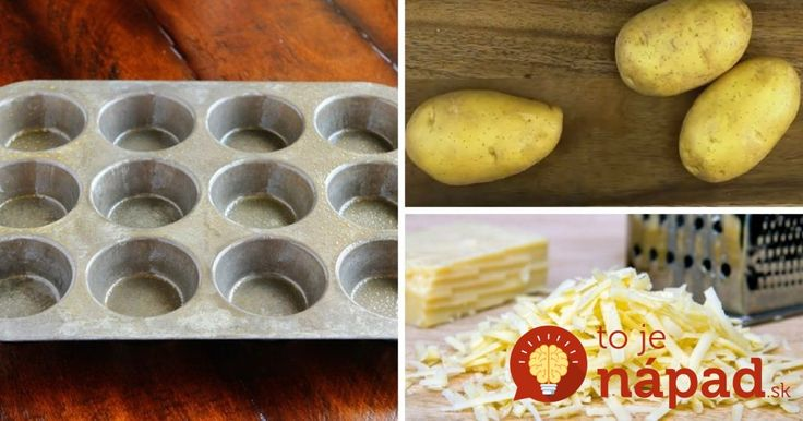 3 zemiaky, syr a forma na muffiny: Keď uvidíte výsledok, budú sa vám zbiehať slinky!