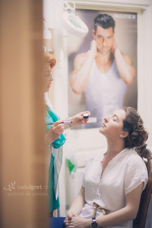 Pregatiri de nuntă la Salon Coquette (Timisoara)   www.raduigret.ro