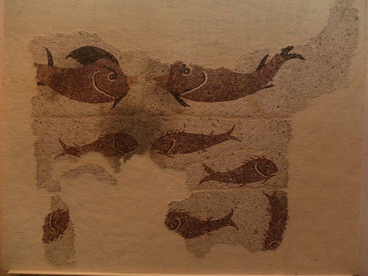 Museo Arqueológico Regional. Mosaico de los peces