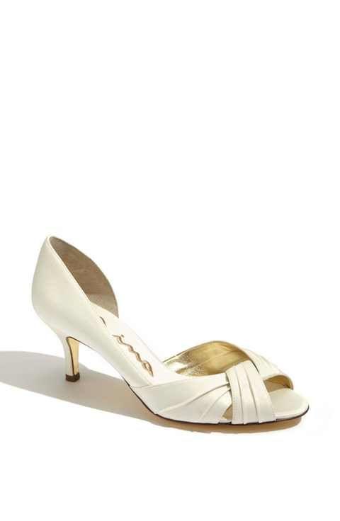 Nuptiale Nina Culver - Chaussures De Mariée En Satin De Femmes, D'argent (argent), 36,5 Eu (m)