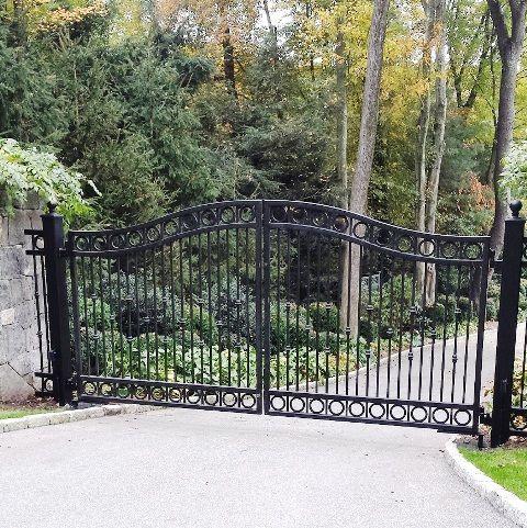 Automated Iron Entrance Gate
