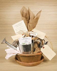 Mother's Day Herb Garden Kit - This beautiful herb garden is a great idea for an extra-special gift for Mom.