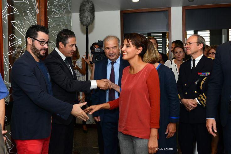 Najat Vallaud Belkacem inaugure le rectorat de Toulouse