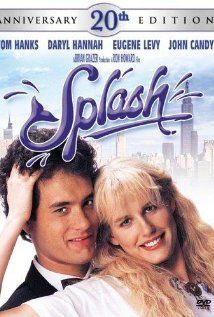 "325 Days-Romantic Films:Till Valentine's:..SPLASH... talk about a fish out of water. Launched Tom Hanks career (& director Ron Howard) 'LOVE STORY AD MERMAID'  Smart, funny, zany. I was HOOKED. a LINE a minute. AND has whole kitchen SINK(er). Very touching Love Ballad. Lesson: It's better when you don't keep secrets. Have Poster & DVD ... Qt:"" I don't understand. All my life I've been waiting for someone and  when I find her, she's... she's a fish.""…"