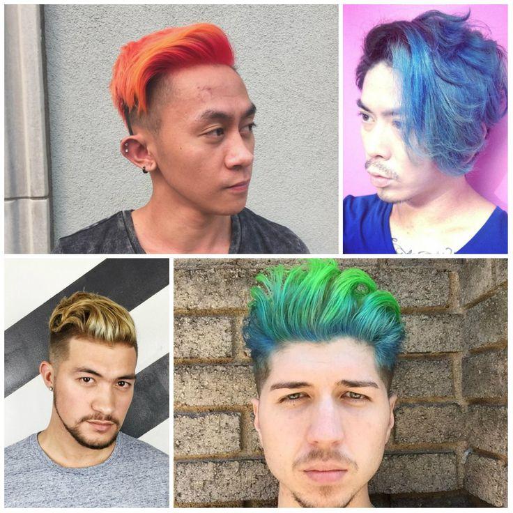 Haar-Farbe-Ideen für Männer | Haarfarben, Neue haarfarben