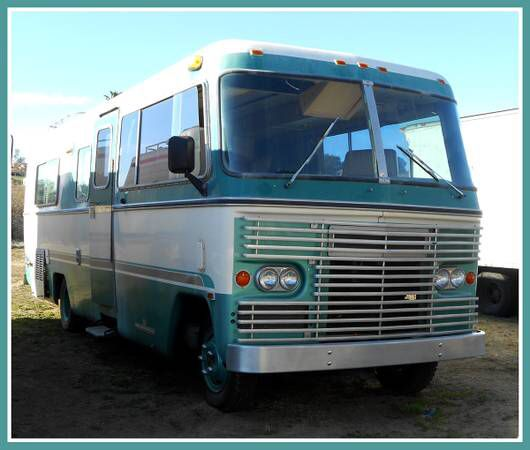 1973 Avco Class A Motorhome Fully Self Contained All