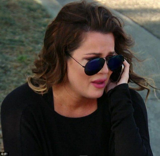 'It's not f**king fair': Khloe said she 'can't do this anymore' as she cried while on the ...
