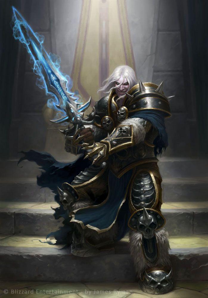 Arthas Menethil by ~namesjames on deviantART  [ Fighter - Warrior - Paladin - Knight - Archer - Assassin ]