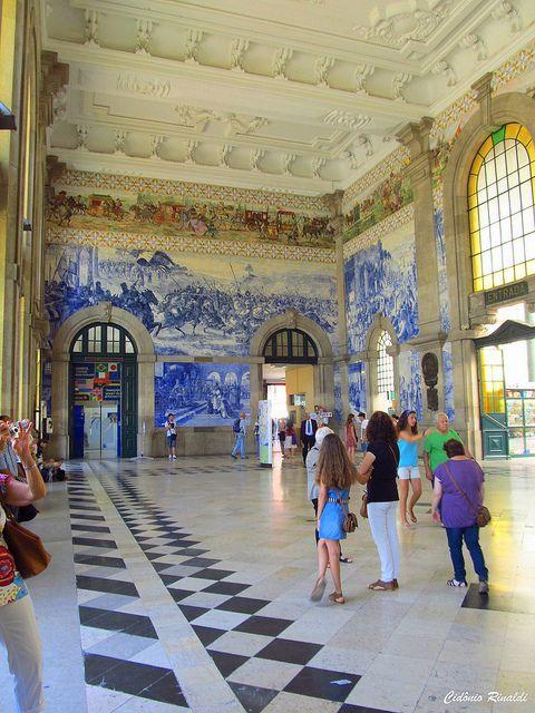 Estação São Bento - Porto - Portugal | Flickr – Compartilhamento de fotos!