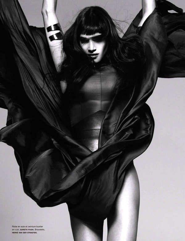 Haute Dominatrix Editorials - Model Sofia Boutella Looks Fierce in Numero February 2013 (GALLERY)