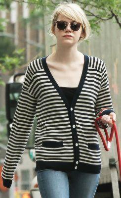#EmmaStone nosi #jopo #navystyle