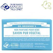 Dr. Bronner's Magic Soaps - Pain de Savon Pur Végétal Non parfumé Bébé Disponible dans l'e-shop www.officina-paris.fr #officina #paris #eshopping #beaute #pain #barsoap #vegetal #solide #cosmetiques #savon #douche #gel #liquide #bio #naturel #fairtrade #drbronner #drbronners #magicsoap #soap #organic #vegan #equitable #argrumes #orange #citrus #fresh #rose #peppermint #menthepoivree #amande #arbreathe #teatree #eucalyptus #lavande #bebe #doux #sansparfum #babycare