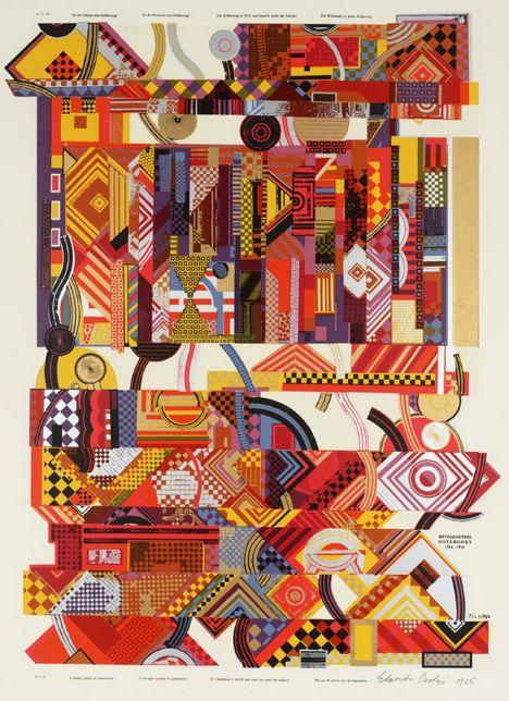 Eduardo Paolozzi, Experience, 1964
