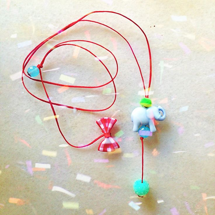 Small for Paul Happy Elephant, necklace!