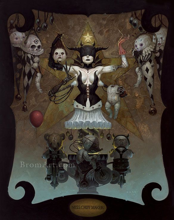 Krampus the Yule Lord | BROM - Fantasy artist of video games/movies etc