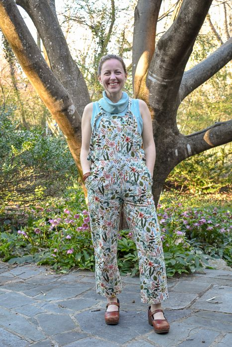 f90333e92 Jessamy's beautiful Ronja dungarees - fit for a garden party! | The ...