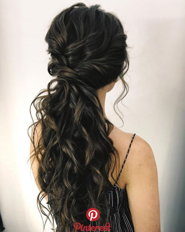 87 Fabulous Wedding Hairstyles For Every Wedding Dress Neckline The Best And Fabulous Hairstyles For Cute Ponytail Hairstyles Hair Styles Ponytail Hairstyles