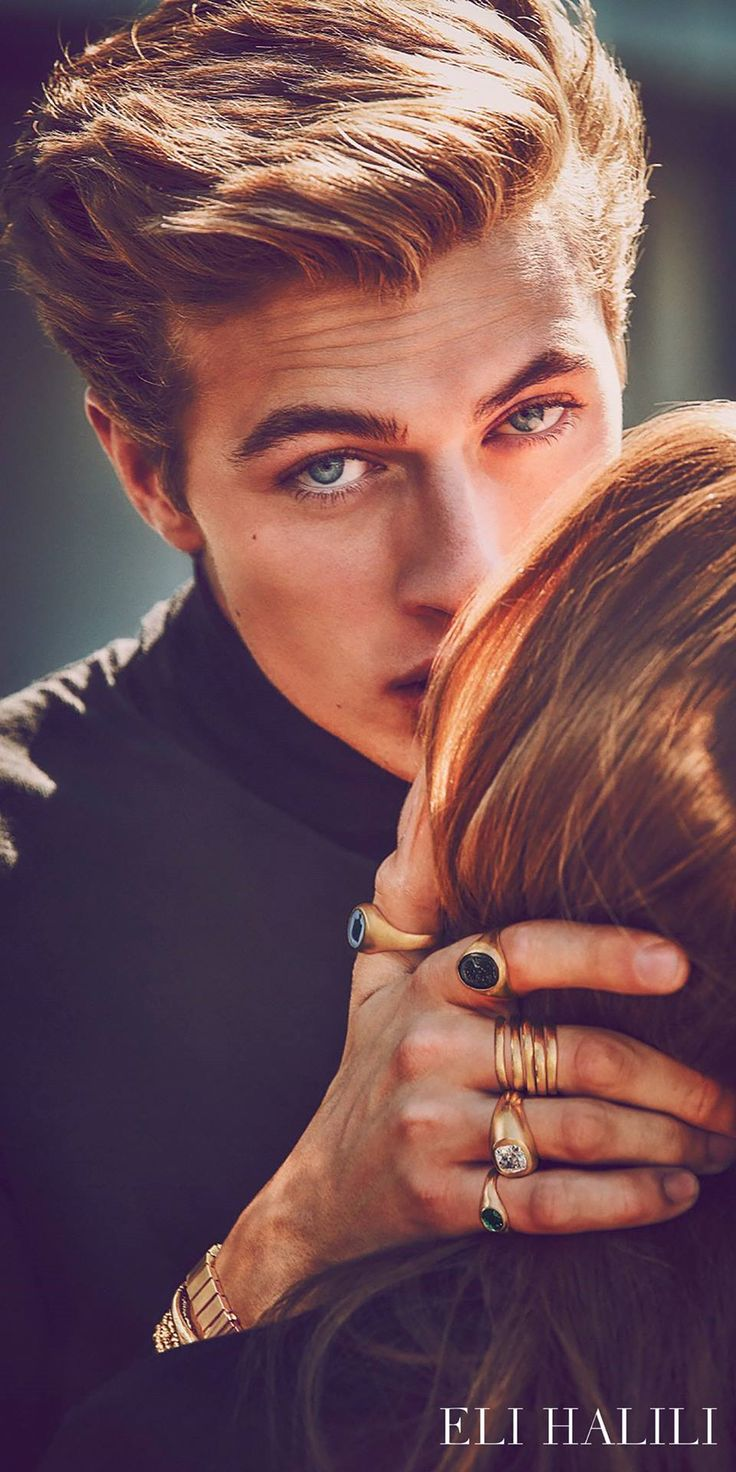 Lucky Blue for #ElihaliliCampaign | Photographed by Guy Aroch ❤