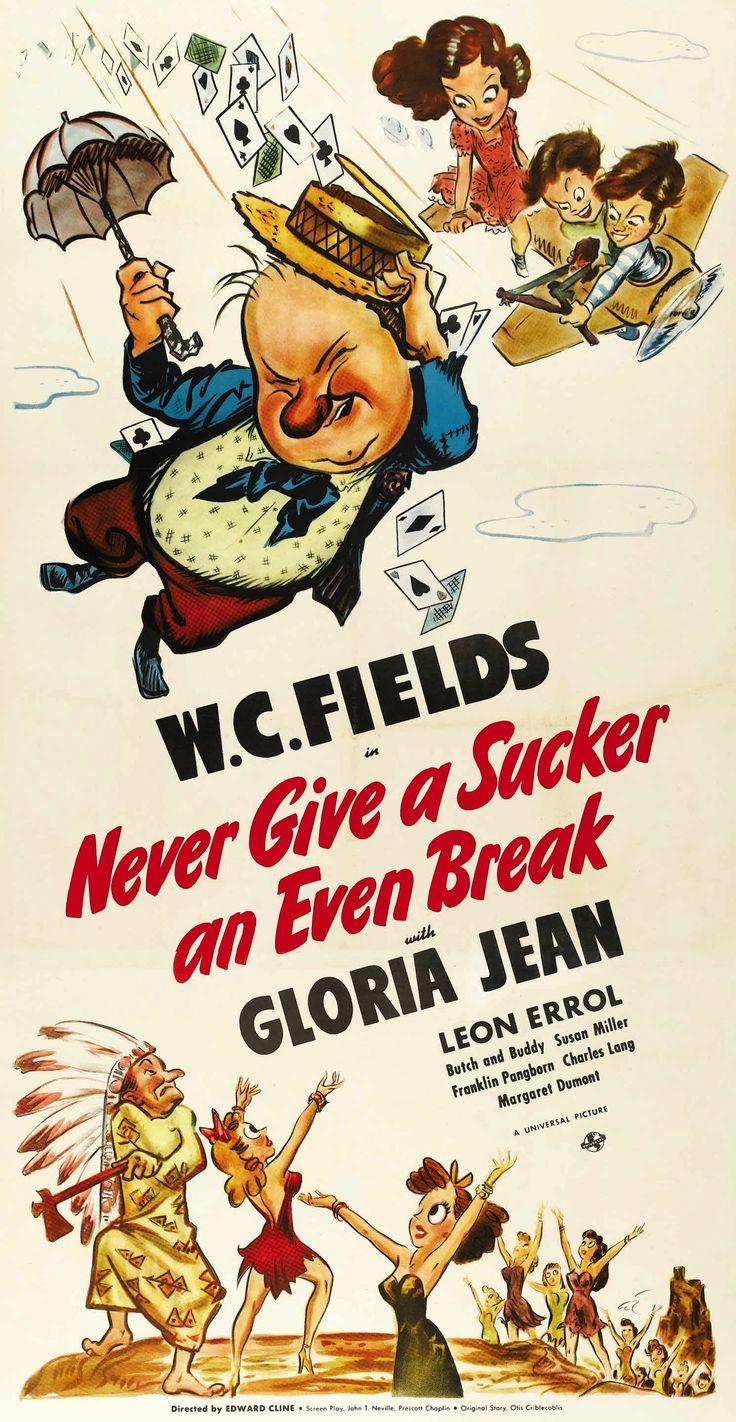 N°2 - USA - W.C. Fields (1880 - 1946) - Movie poster