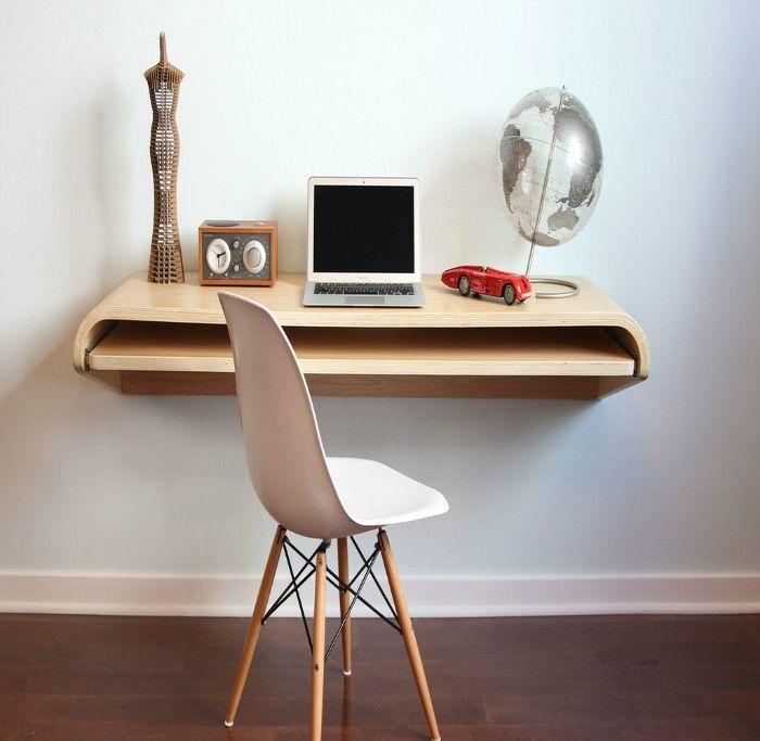 Стол без ножек крепиться к стене