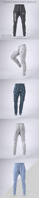 Download Joggers Pants And Sweatpants Mock Up Jogger Pants Clothing Mockup Joggers