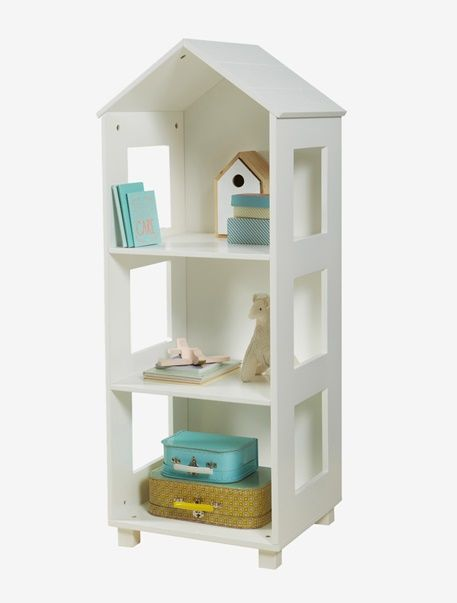 This is a practical storage solution for any bedroom with an exclusive beach hut look and an immaculate finish.  SIZE:  Height 118 cm  width 40 cm  depth 46 cm.  In non-toxic lacquered MDF.  Storage boxes can be added on to this.  WHAT YOU NEED TO KNOW:Self-assembly.  To be fixed to a wall to ensure your child's safety. Complements the LIBERTYVILLE bedroom theme. ;