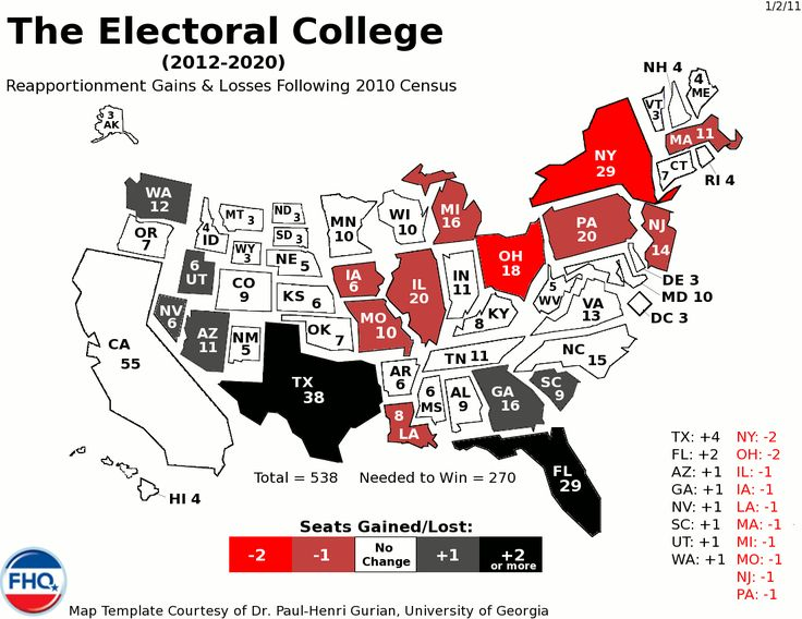 The Best Electoral College Map Ideas On Pinterest Electoral - Us political map adjusted for population 2016