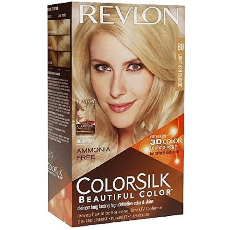 Revlon Colorsilk Ammonia-free Permanent Haircolor, Light Ash Blonde