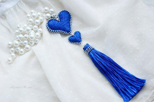 Вязаные украшения. Кисти. Серьги. Вязание крючком. Красота. Мода.Фотография.Вязаная Мечта