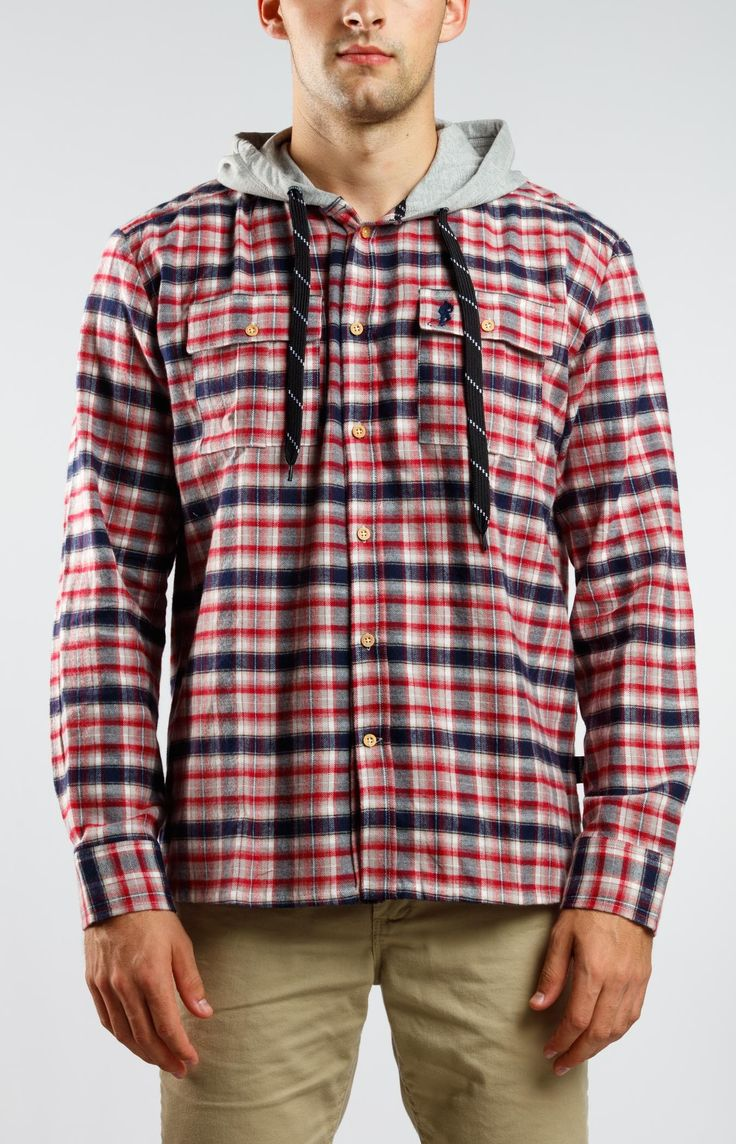 Plaid For The Lad Mens Gongshow Hockey Hoodie | GONGSHOW Hockey Lifestyle Apparel
