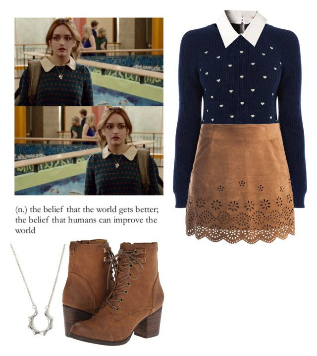 Emma Decody - Bates Motel by shadyannon on Polyvore featuring polyvore fashion style Oasis Sans Souci Madden Girl clothing