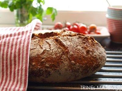 Eltefritt frokostbrød » TRINEs MATBLOGG
