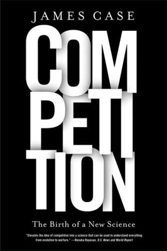 "The genius of this book cover is in how the designer layered the letters of the word ""COMPETITION"" to create a sense of competition between each of them. By using a bold layout and simple color scheme, the designer kept the emphasis and competition only where it was needed."