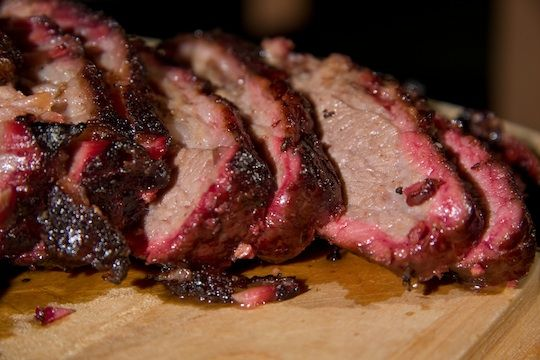 I am going to learn to make beef brisket that looks this good if I have to go through whole herd of cows