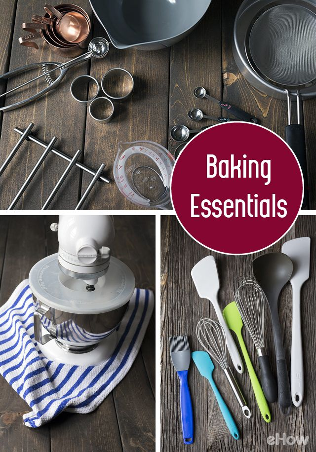 If you're trying to build a more well-stocked kitchen for baking, there are certain essential tools and equipment you should consider. The best measuring cups & spoons, heat resistant tools,  baking pans, knives and more listed here:  http://www.ehow.com/facts_5173382_baking-measurement-tools-uses.html?utm_source=pinterest.com&utm_medium=referral&utm_content=freestyle&utm_campaign=fanpage