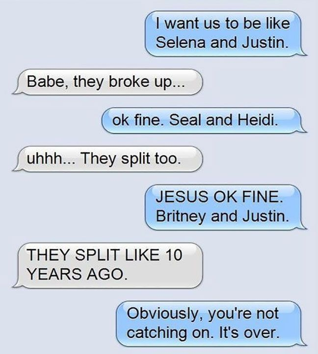 55 Funny Text Messages Ever Sent