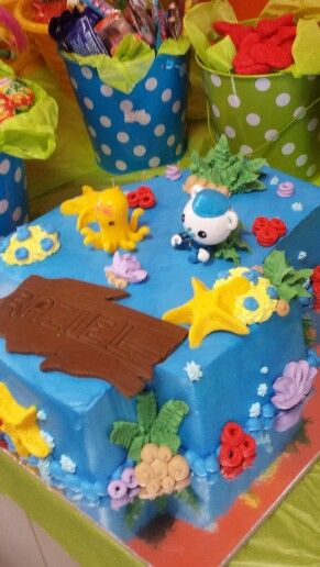 Octonauts cake for my 4yr old son